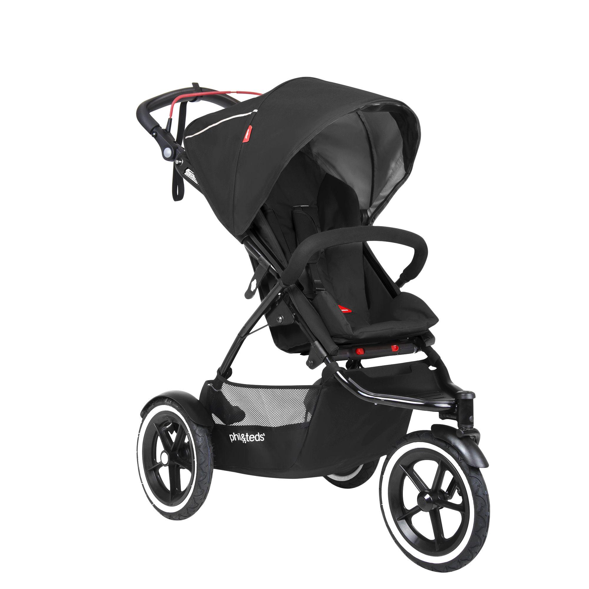 phil&teds sport stroller in black