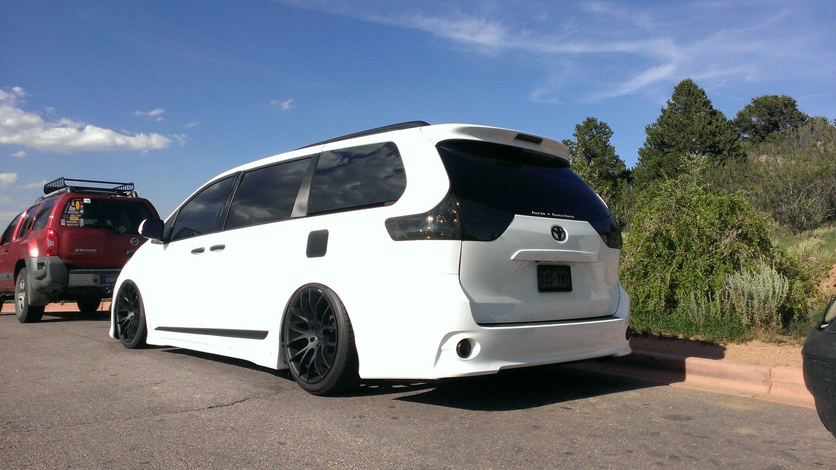 Slammed sienna minivans can be cool right pinterest for Should i buy a toyota sienna or honda odyssey