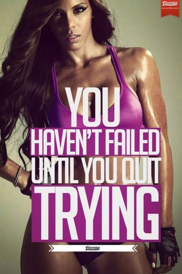 80 Female Fitness Motivation Posters That Inspire You To Work Out - Gravetics -  80 Female Fitness M...