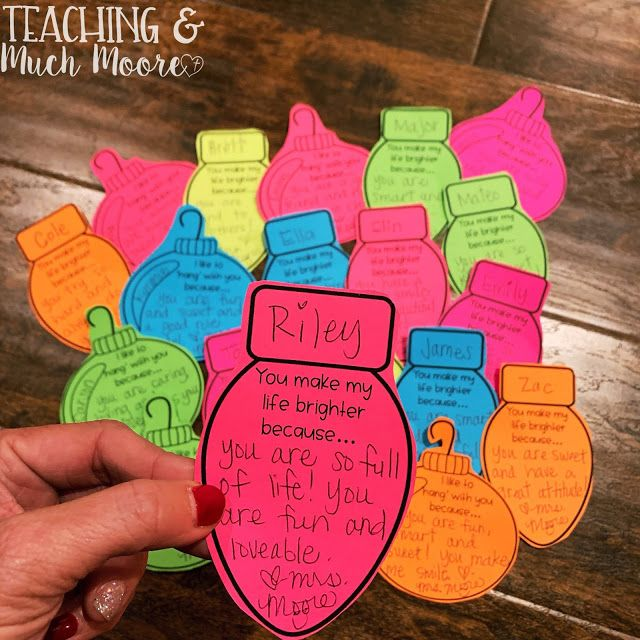 Love notes to your students