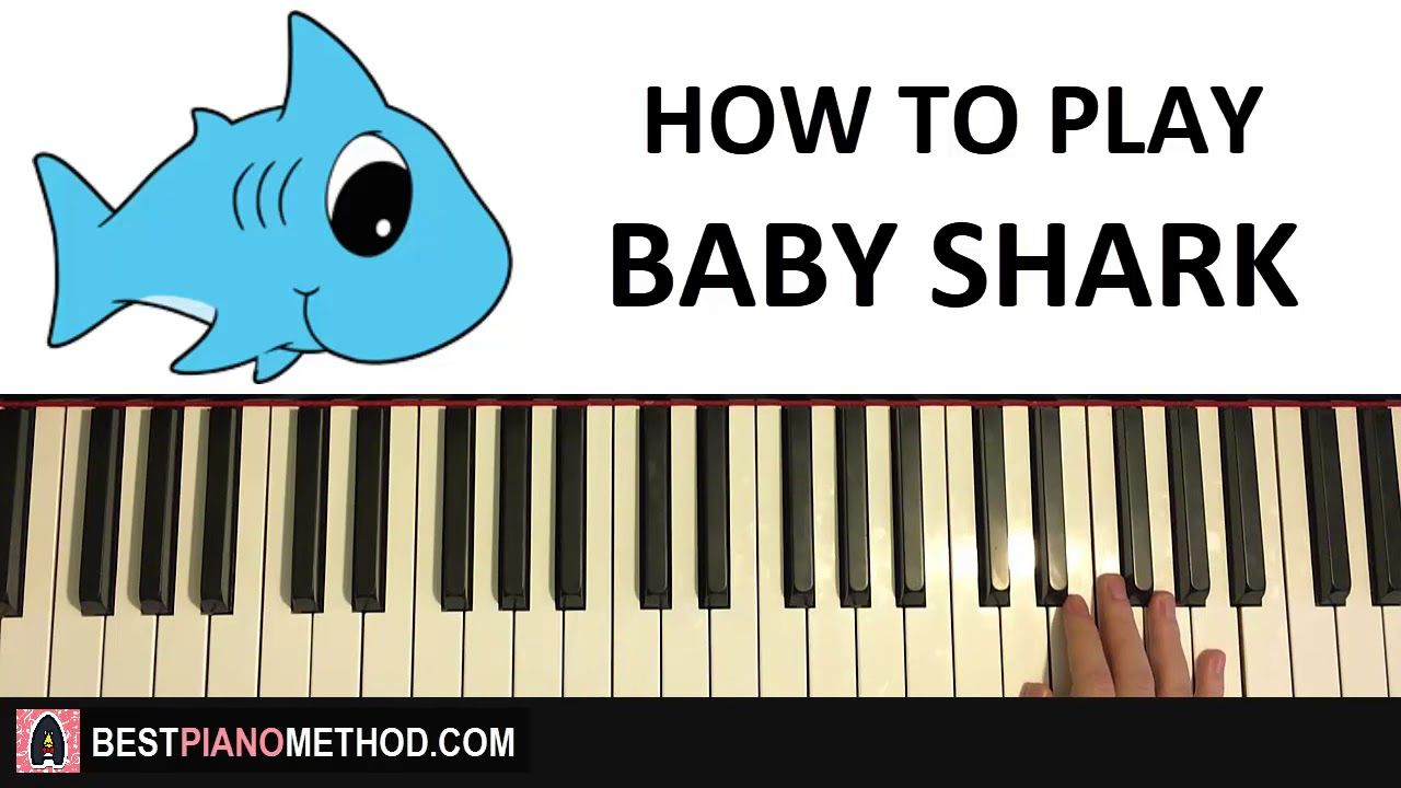 How To Play Baby Shark By Pinkfong Piano Tutorial Lesson
