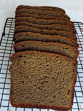 Gluten Free Pumpernickel Bread Gluten Free Pumpernickel Bread Recipe Gluten Free Dairy Free Gluten Free Recipes Bread