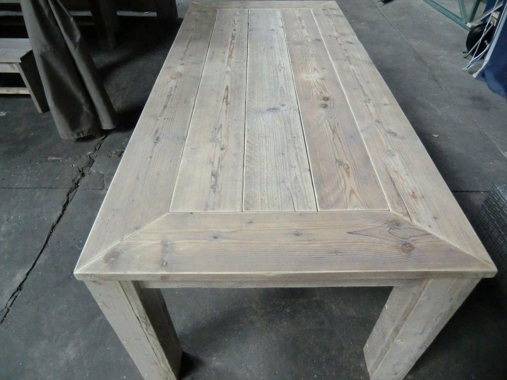 Tisch Mobel Bauholzmobel Bauholz Gartentisch Esstisch Holztisch