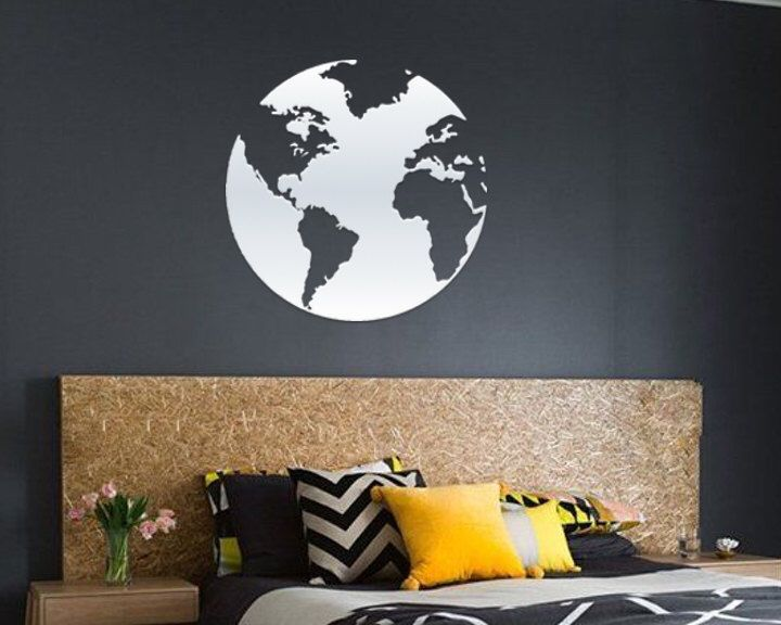 Globe decal world map art world map sticker globe decor world globe decal world map art world map sticker globe decor world map decal map decal educational decal home decor vinyl wall art decal gumiabroncs Image collections