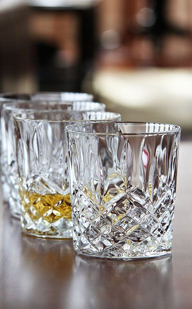 Marquis by Waterford Crystal, Markham Crystal DOF Tumbler, Set of ...