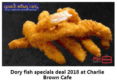 Best Dory Fish Specials Deal 2018 At Charlie Brown Cafe Orchard Road Singapore The Best Comics Themed Cafe At Ca Charlie Brown Cafe Dory Fish Themed Cafes