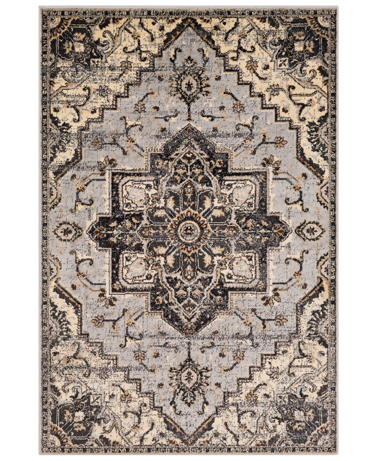 Surya Paramount Par 1091 Medium Gray 8 10 X 12 9 Area Rug