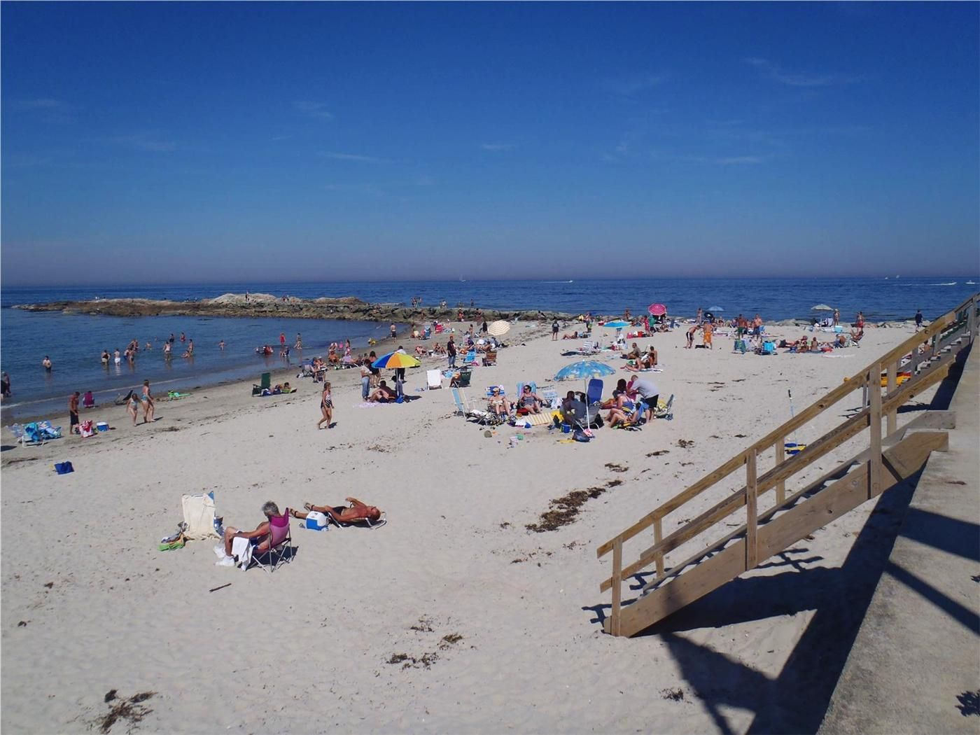 Brant Rock Beach Looking Southeast Toward Jetty Marshfield Ma Vacation Al On Weneedavacation Id 20176