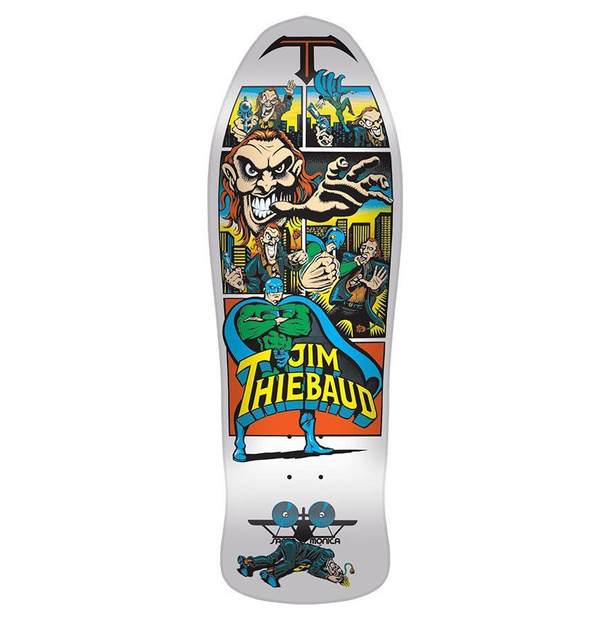 Santa Cruz / SMA Thiebaud Joker Re-Issue Deck **PRE-ORDER**