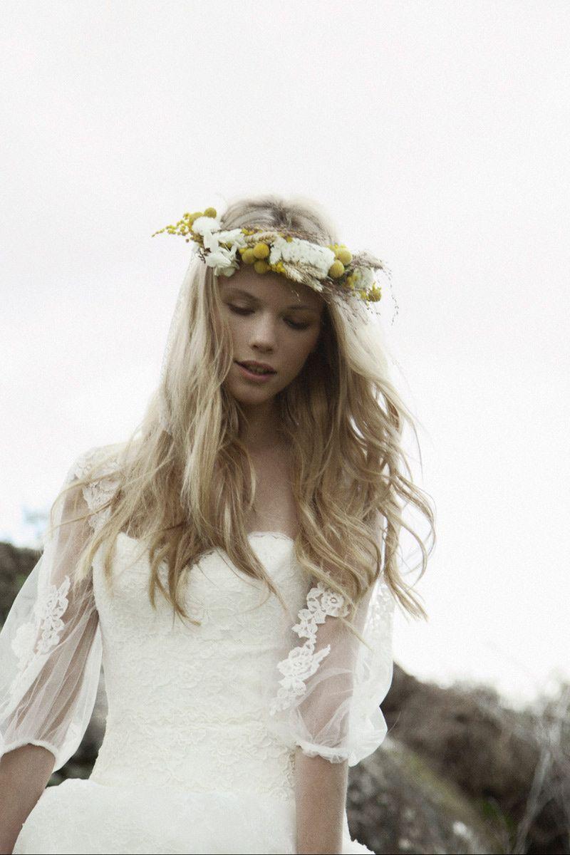 Pronovias | Inspiración looks de #novias y #bodas #bohochic #fashion ...
