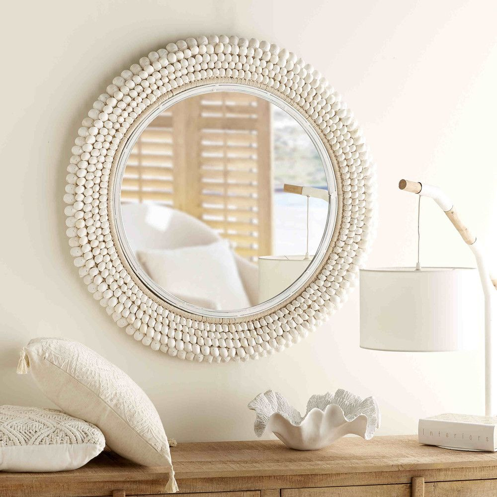 Berühmt Spiegel met schelpen D.90cm LAGOON   Maisons du Monde IP35