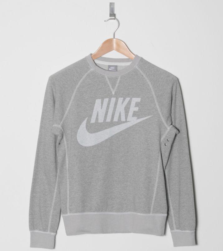 Nike Vintage Marl Logo Crew Sweater