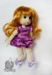 шарнирная кукла крючком мастер класс Amigurumi Dolls куклы