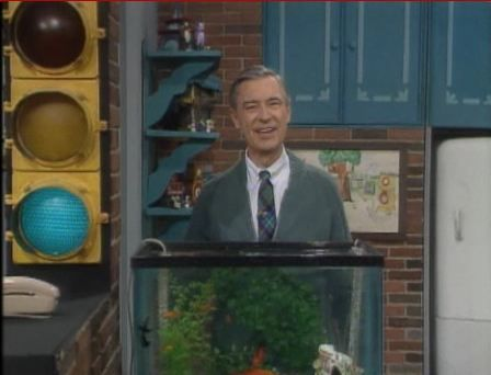 Mister Rogers Traffic Light Who Wouldn T Want A Traffic Light In Their Mid Century Living Room Mr Rogers Blind Girl Mister Rogers Neighborhood
