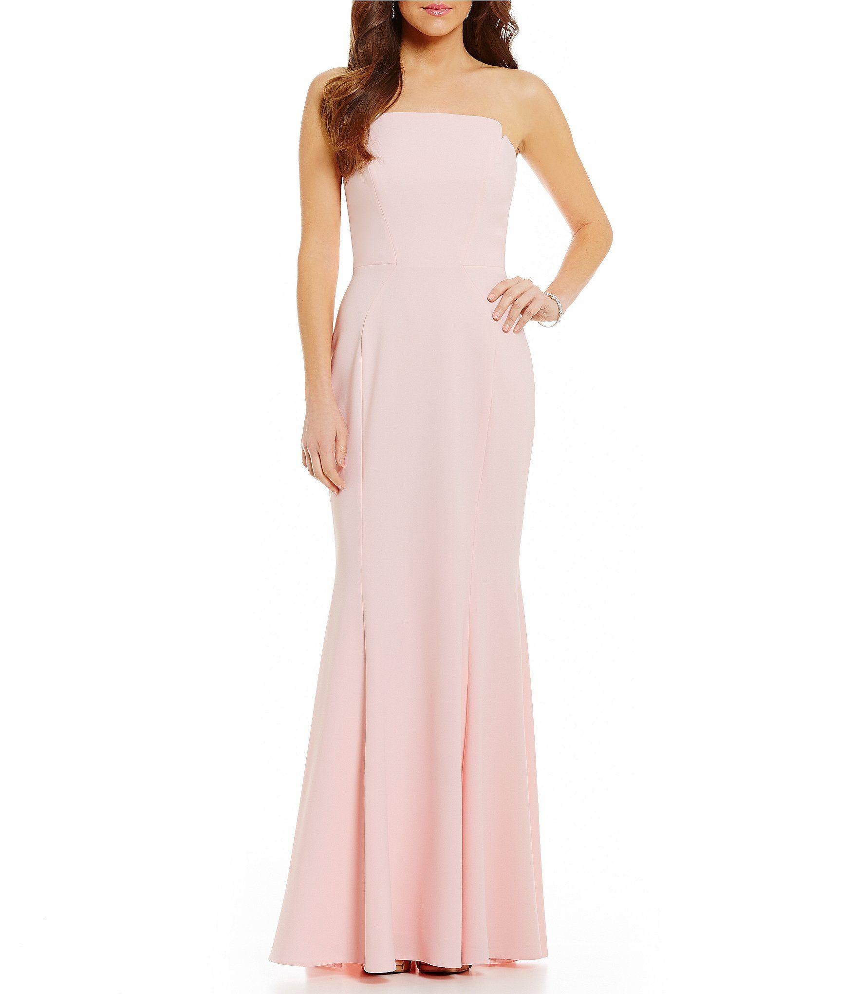 Shop for jill jill stuart long strapless fitted gown at dillards