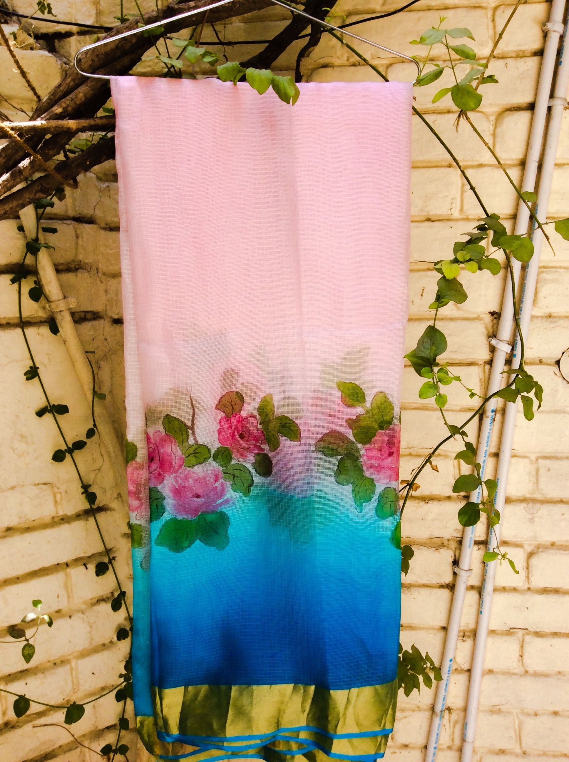 Hand painted kurtis | Women\'s fashion | Pinterest | Kurtis, Fabric ...