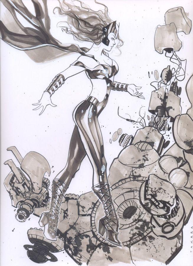 commission - Polaris by marciotakara on DeviantArt | Women Of Marvel ...
