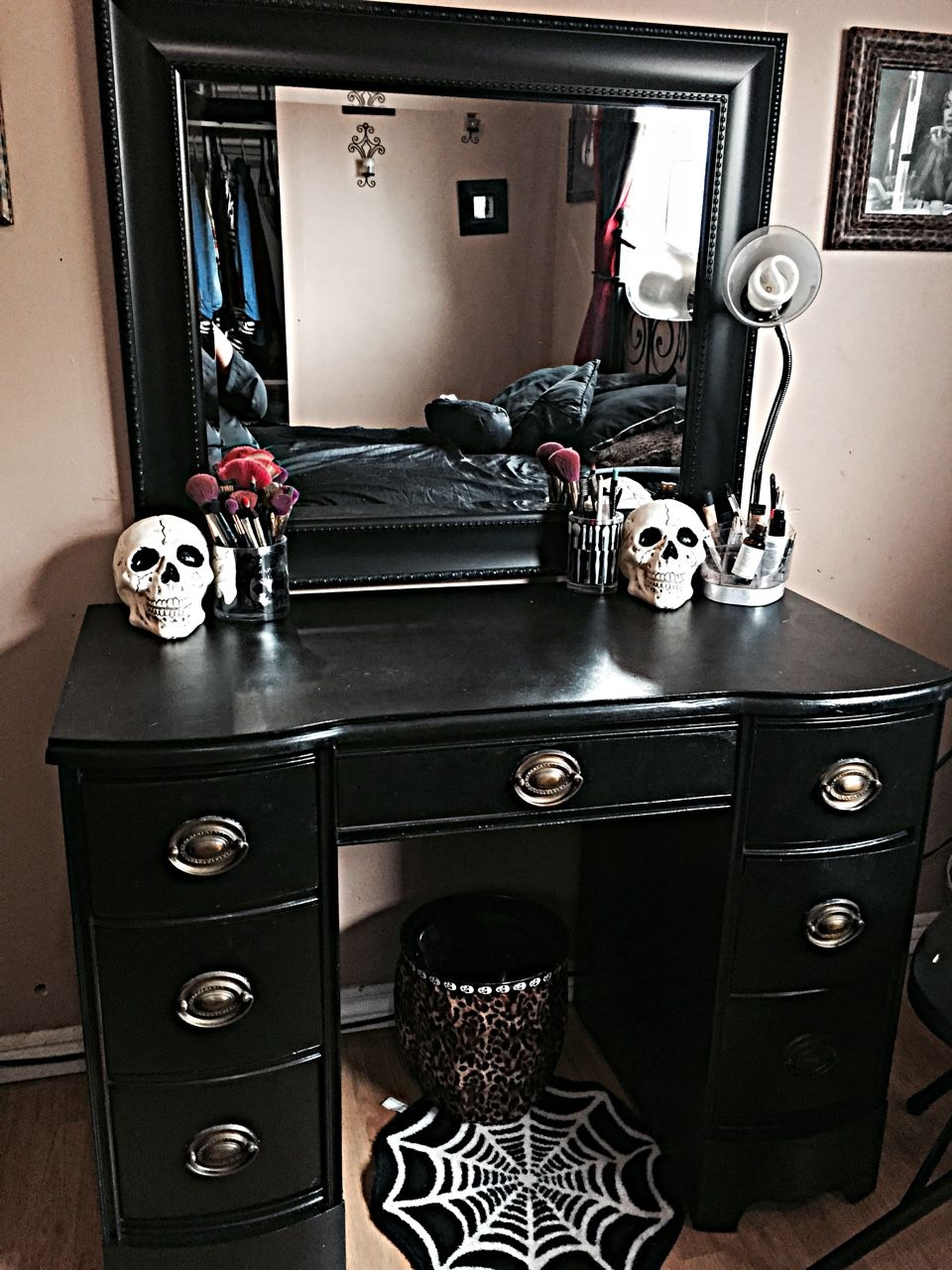 gothic display cabinet home pinterest display cabinets and beautyschooldropouttt my vanity halloween is everyday