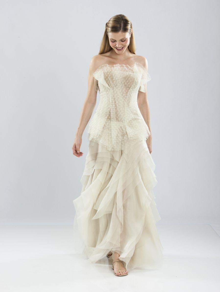 Wedding dress by Michel Mayer id309 | Styling | Pinterest