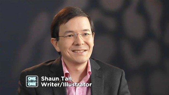 An Interview With Shaun Tan Award Winning Australian Author And