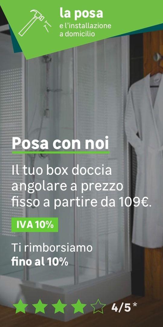 Box doccia e Cabina doccia completa prezzi e offerte