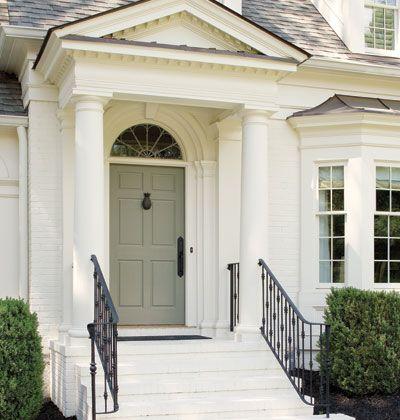 Eingangstüren landhaus grau  Front door | the Doors | Pinterest | Außenfarben, Grau und ...