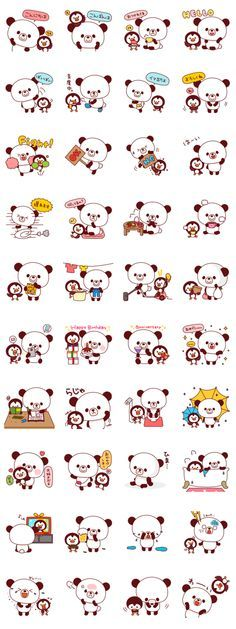 line sticker panda - Google 搜尋