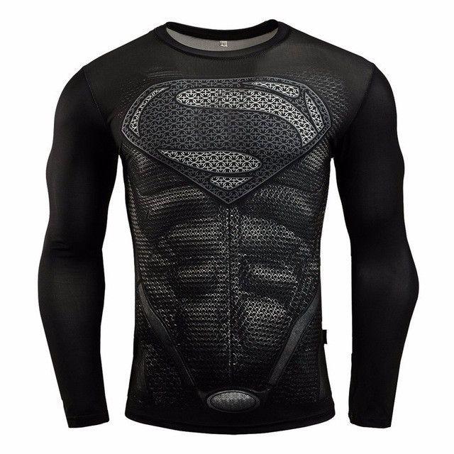 BAOLONG Batman VS Superman T Shirt 3D Printed T-shirts Avengers iron man Civil War crossfit camiseta gymshark De kleren