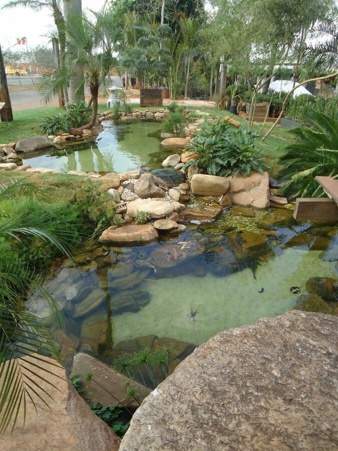 I like the white bottom... to show off any fish.   Ponds ...