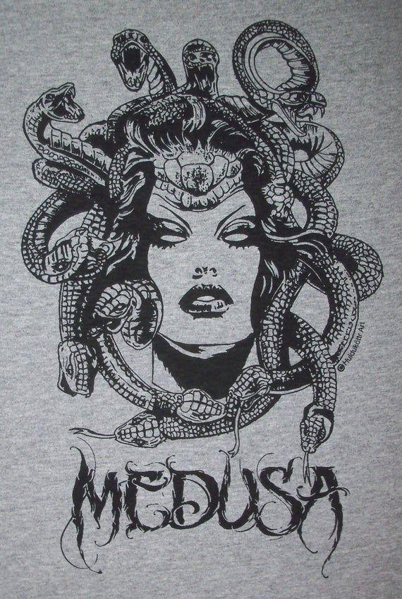 Medusa Chief of the Gorgons T-Shirt BL