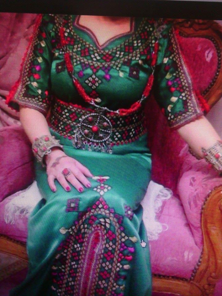 Robe kabyle ~broderie berbère~