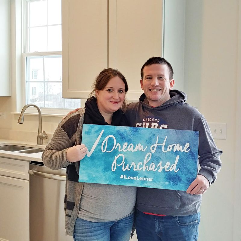 Katelyn and Douglas checked buying their Dream Home off