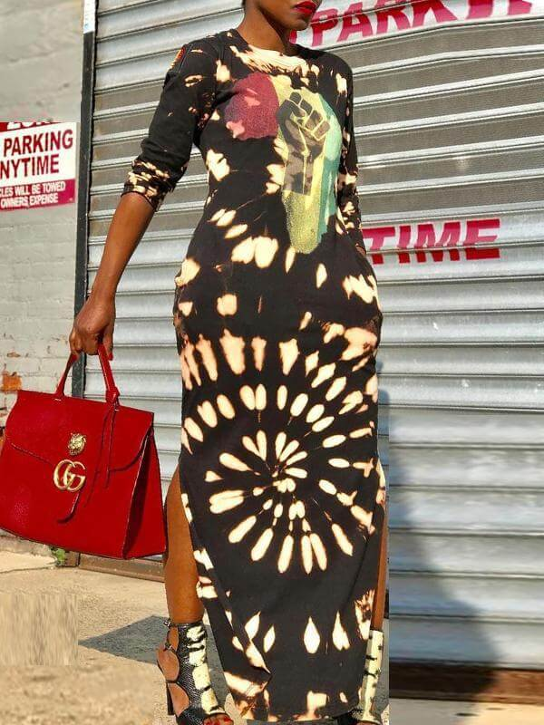 28361ad80079 Africa Pride Maxi Dress – Queenfy