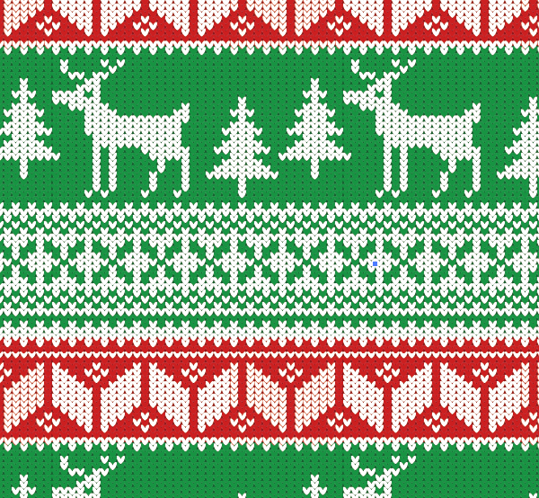 Ugly Christmas Sweaters Patterns.How To Create A Christmas Jumper Pattern In Illustrator