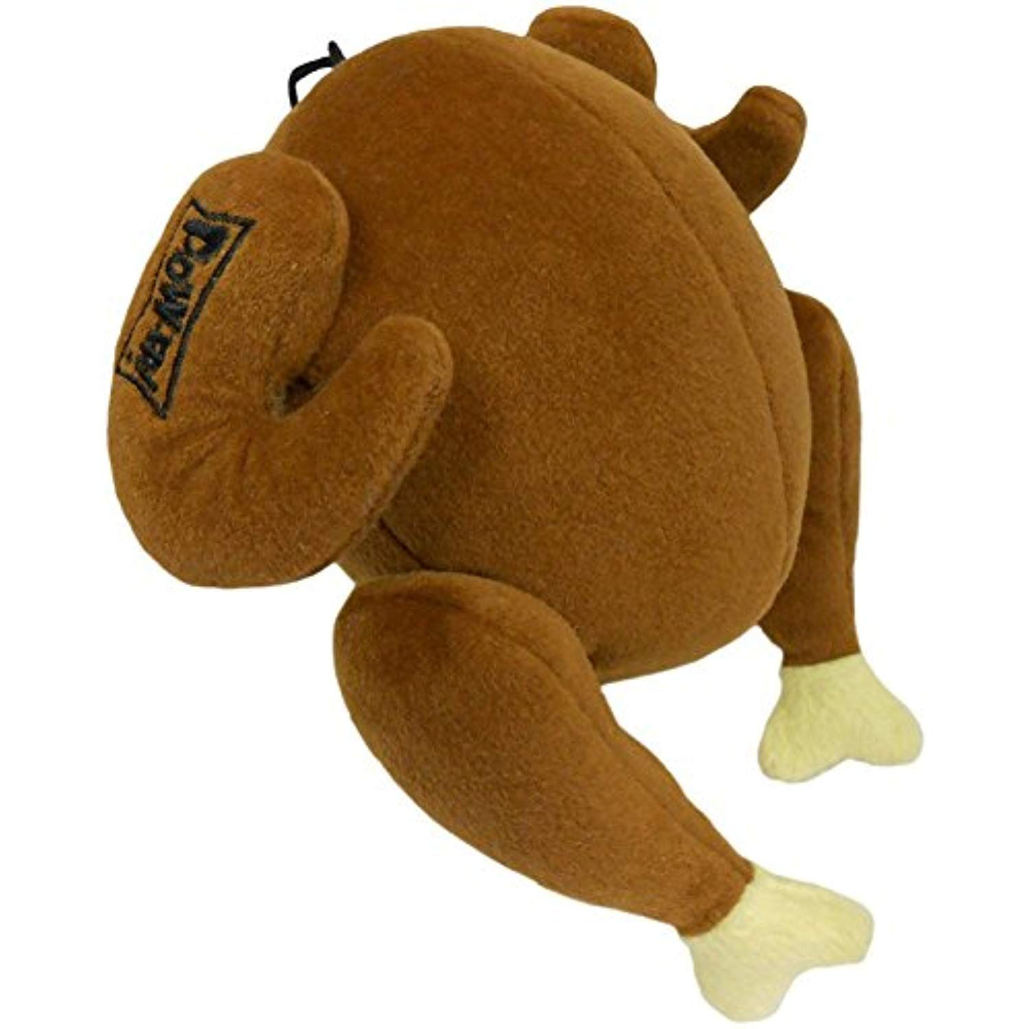 Lulubelles Power Plush Turkey Dog Toy Small Check This