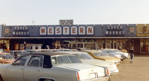 December 1981 - Western Supermarkets were still giving out