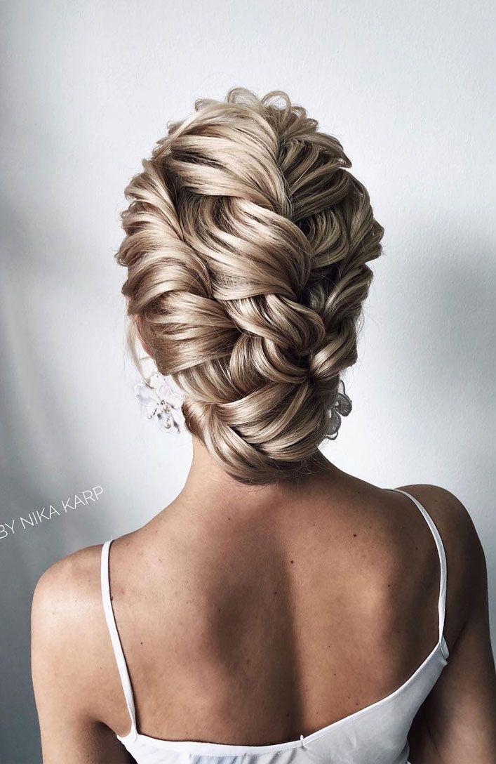 25+ ›Peinados de boda magníficos para la novia elegante