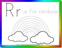 r is for rainbow lots of printables r is for alphabet letter r activities for. Black Bedroom Furniture Sets. Home Design Ideas