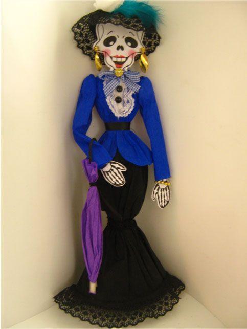 Ideas para vestir a tu calavera ideas para halloween for Ideas para vestir