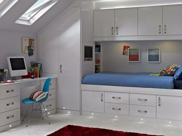 Schrank Badezimmer ~ Schrank badezimmer dachschräge einrichtungsideen knderzimmer