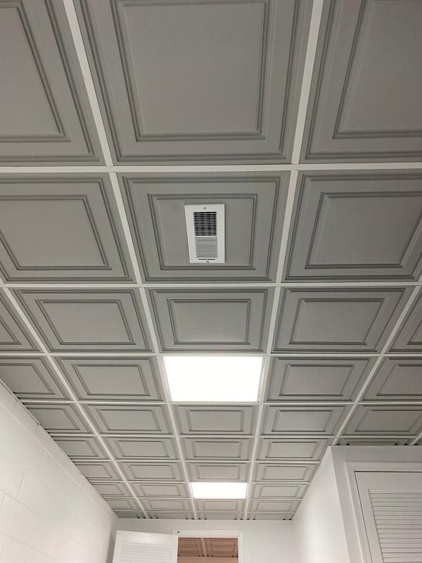 Review Photo 2 In 2020 Black Ceiling Tiles Cieling Panels Ceiling Panels
