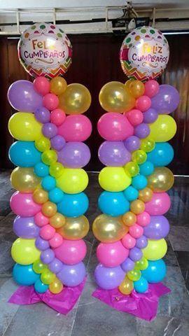 Pin de tameka mcdowell en Balloon Arches,Columns and Centerpieces