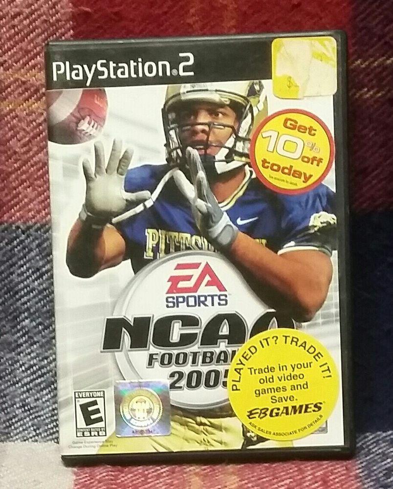 NCAA Football 2005 (Sony PlayStation 2, 2004). eBay