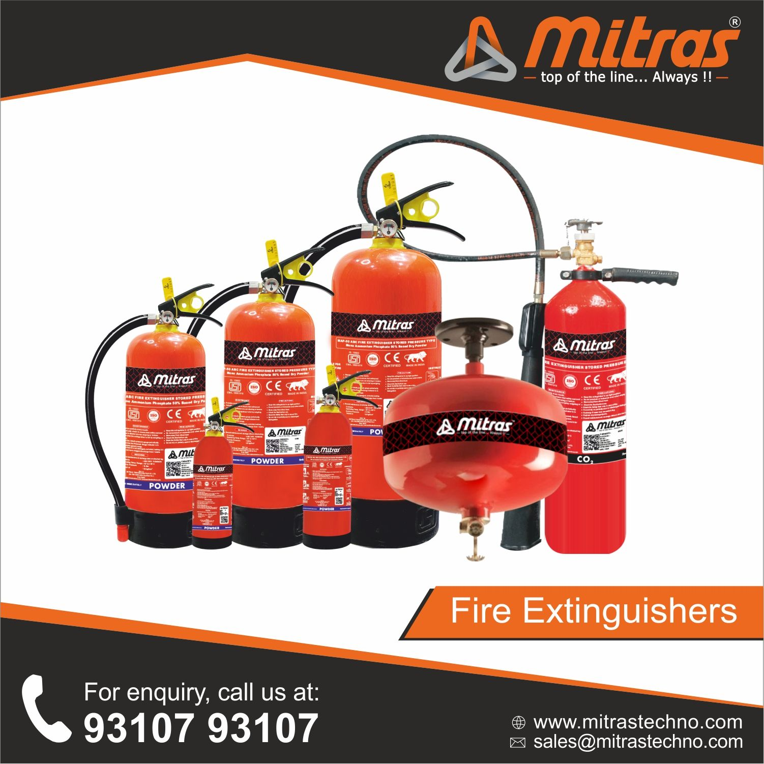 Mitras Technocrafts manufacture several types of fire
