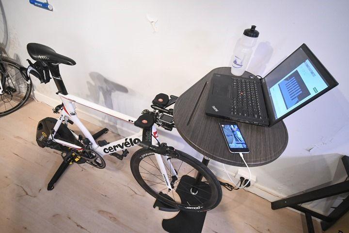 The Podium Trainer Desk In Depth Review Bike Room Bike Trainer