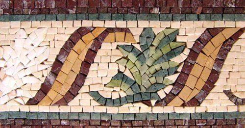Decorative Tiles For Wall Amazing 4 Mosaic Border Tile Wall Floor Bath Home Decor Tiles ** Click On Decorating Design