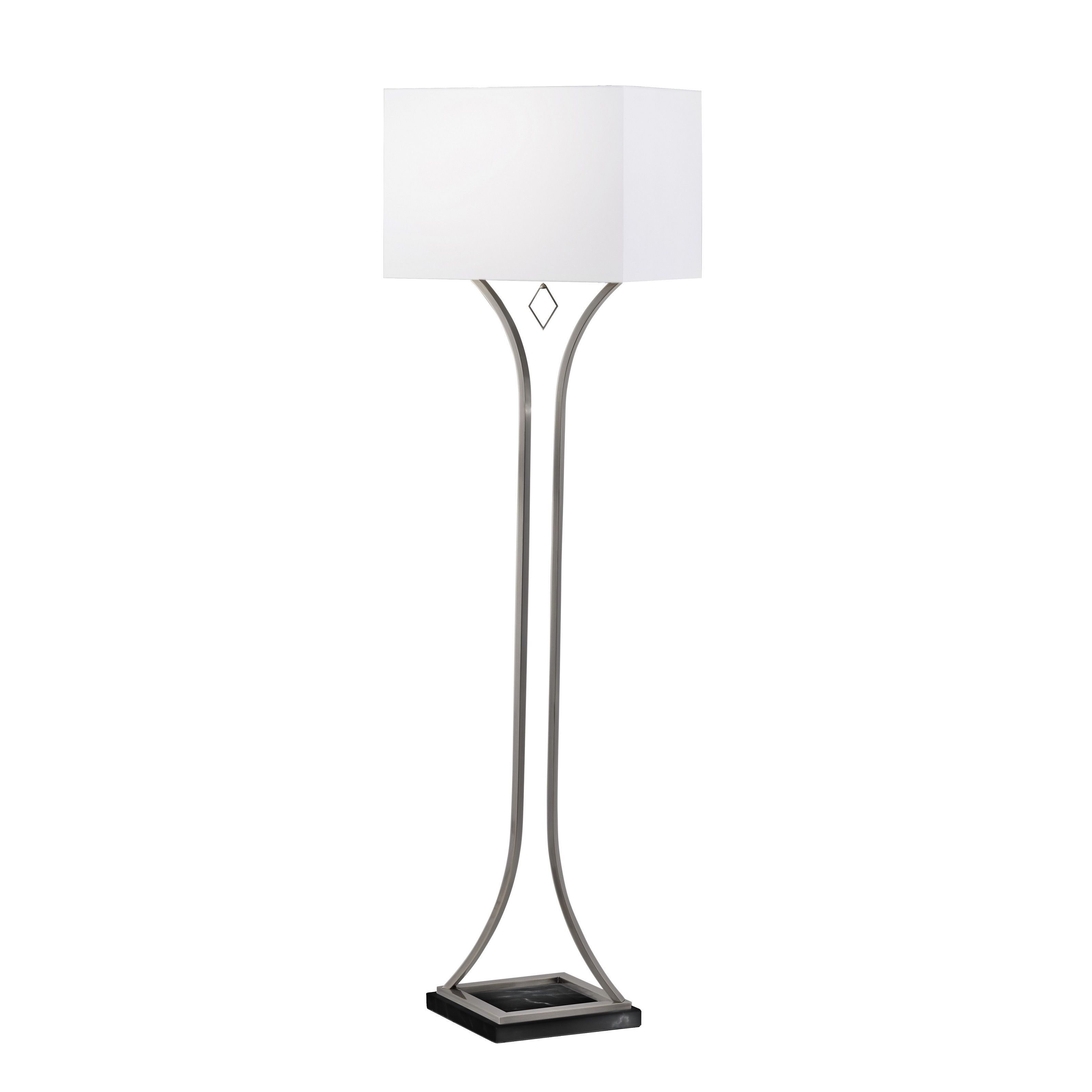 Nova Lighting Jubilee Antique Nickel Steel Floor Lamp