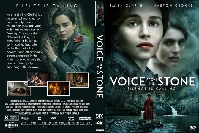 Voice From The Stone (2017) DVD Custom Cover Movie