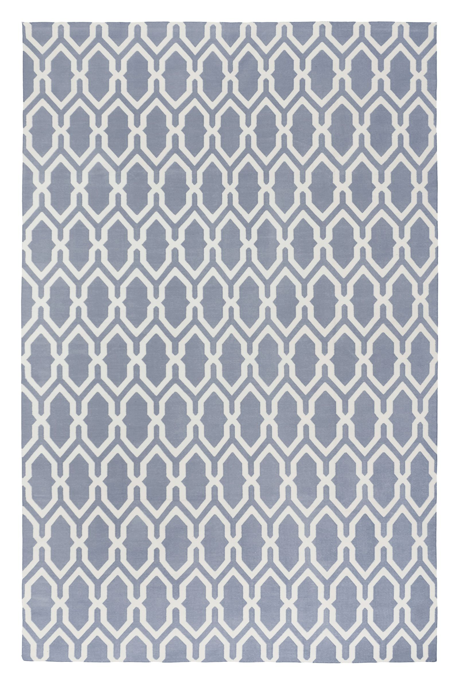 Jali Dove By The Rug Company Cotton Studio Collection