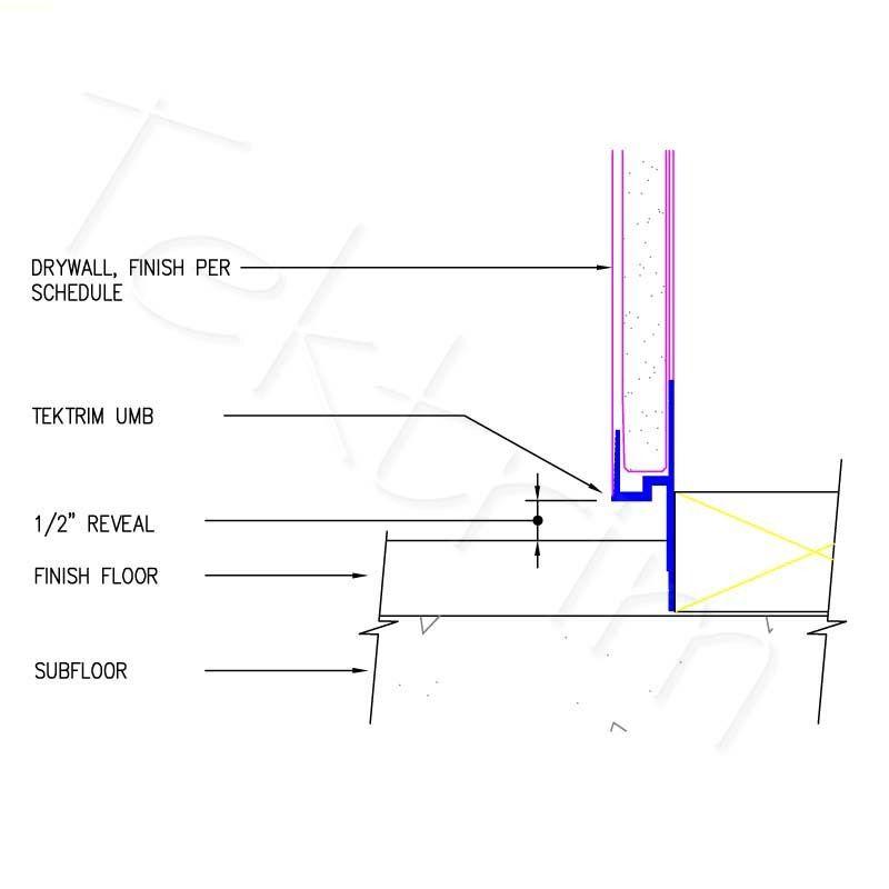 Umb With Floor Shadowline Tektrim In 2020 Flooring Floor Finishes Curtain Wall Detail